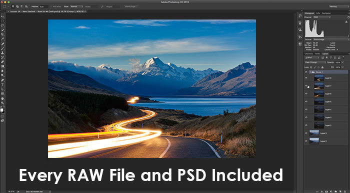 landscape photography tutorial video