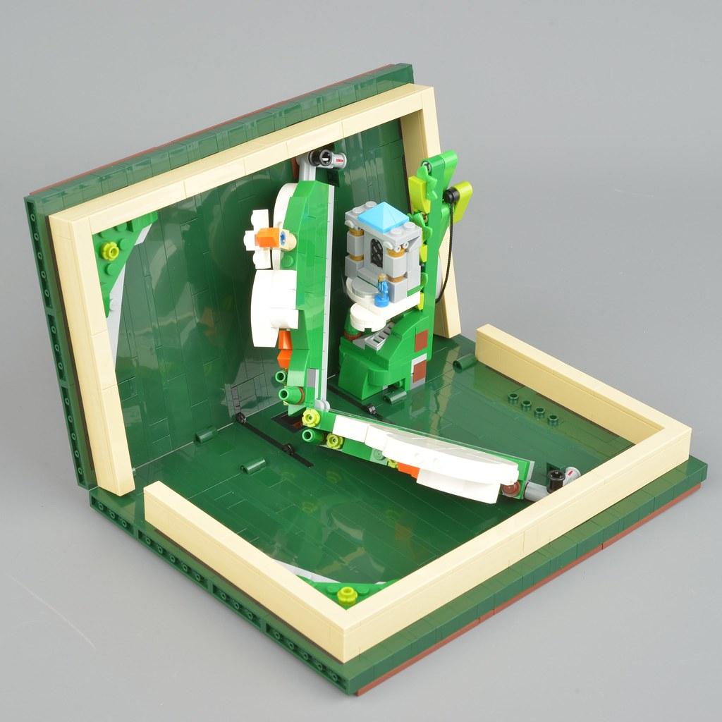 lego pop up book tutorial