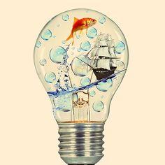 light bulb photoshop tutorial