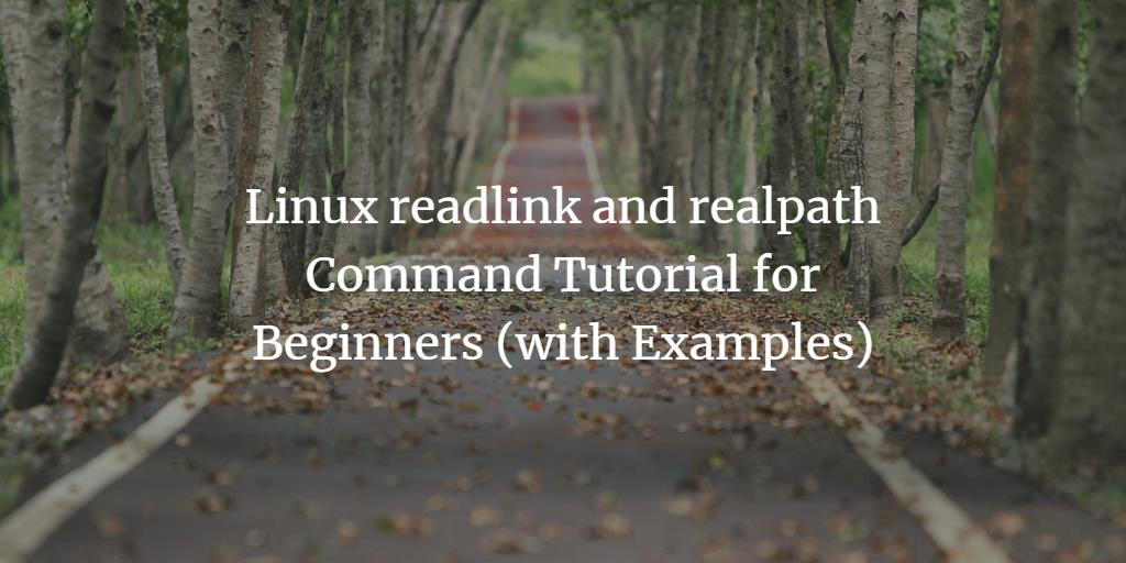 linux commands tutorial with examples pdf
