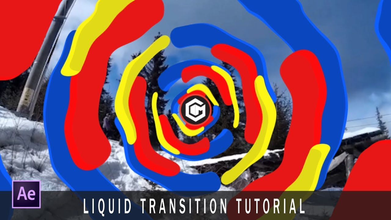 liquid motion after effects tutorial