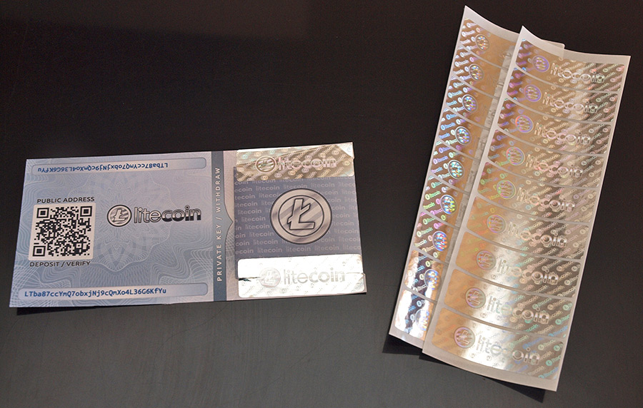 litecoin paper wallet tutorial