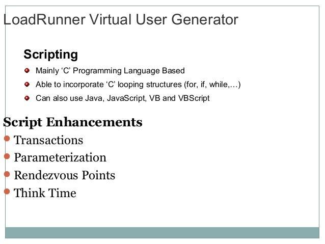 loadrunner java vuser script tutorial