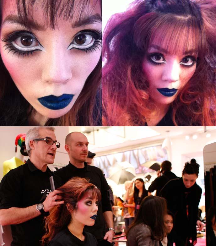 male model makeup tutorial