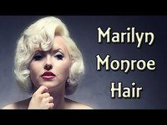 marilyn monroe hair tutorial for long hair