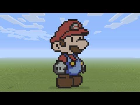 mario pixel art tutorial