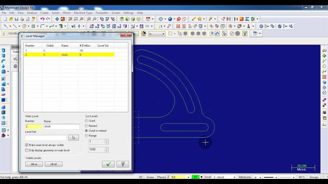 mastercam 9 tutorial download