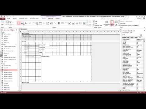 microsoft access tutorial youtube