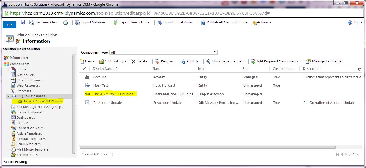 microsoft crm customization tutorial