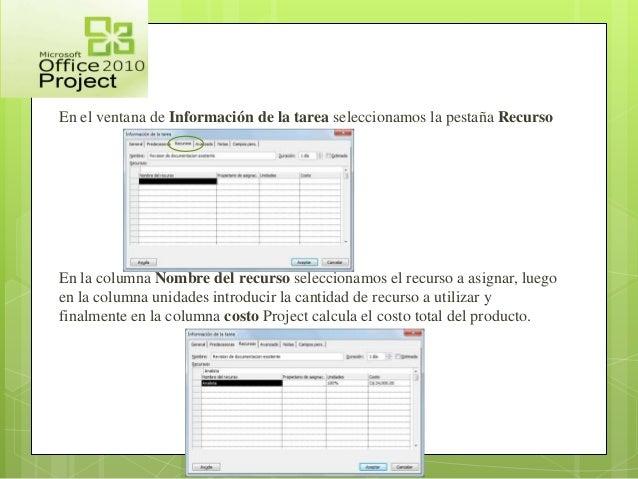microsoft project 2010 tutorial pdf