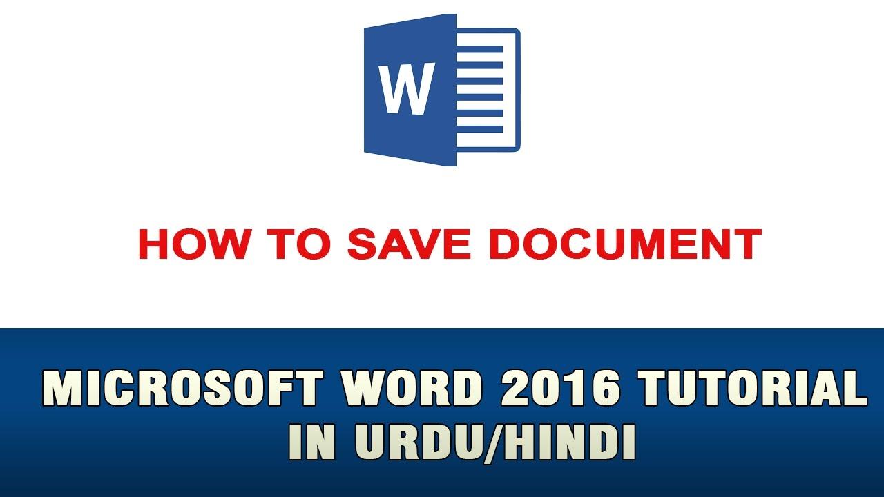 microsoft word tutorial doc