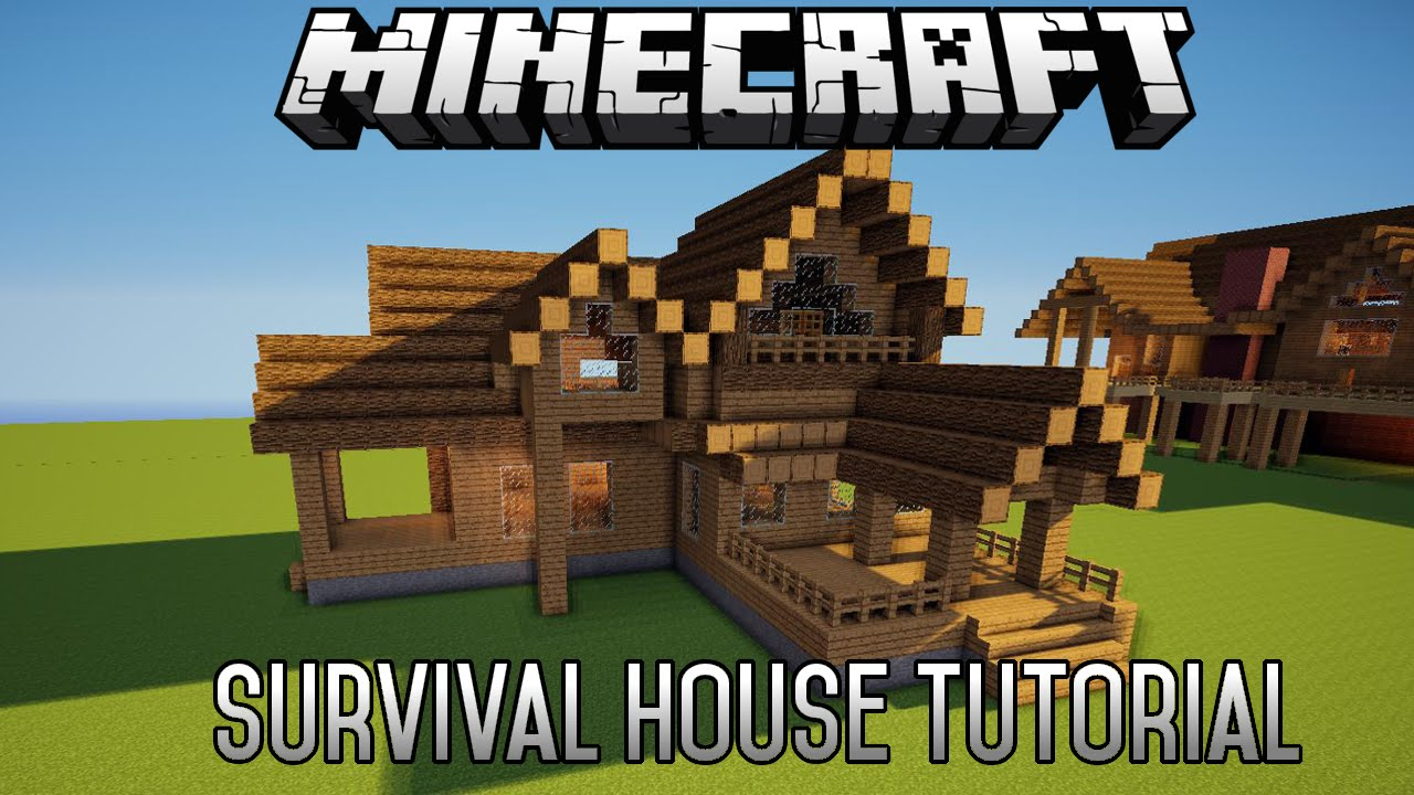 minecraft house tutorial survival