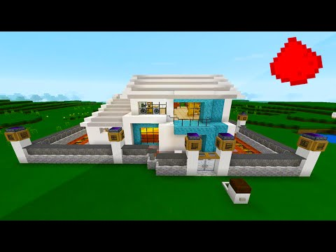 minecraft piston elevator up and down tutorial