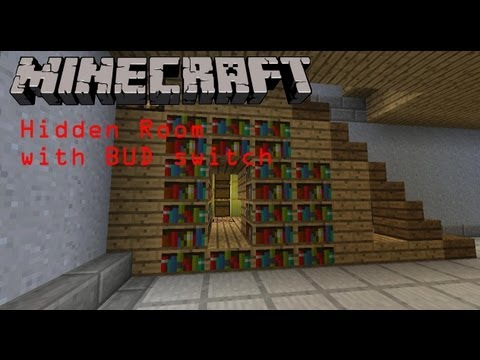 minecraft secret rooms tutorial