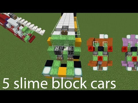 minecraft slime block robot tutorial