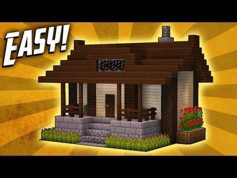 minecraft survival house tutorial step by step