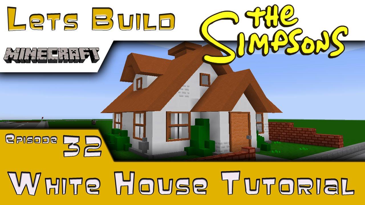 minecraft white house tutorial