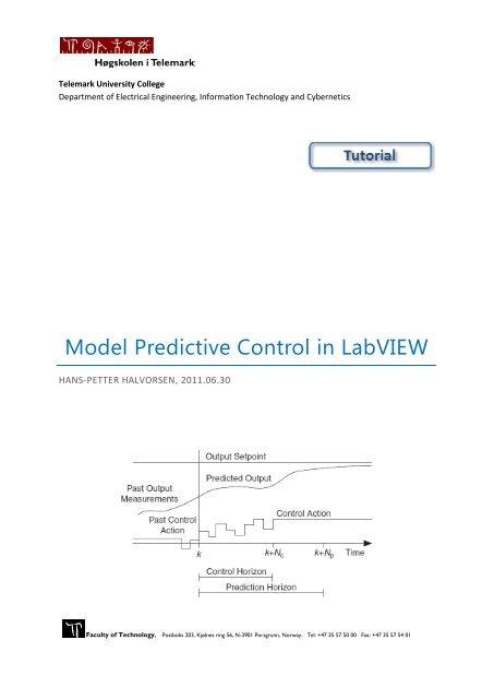 model predictive control tutorial