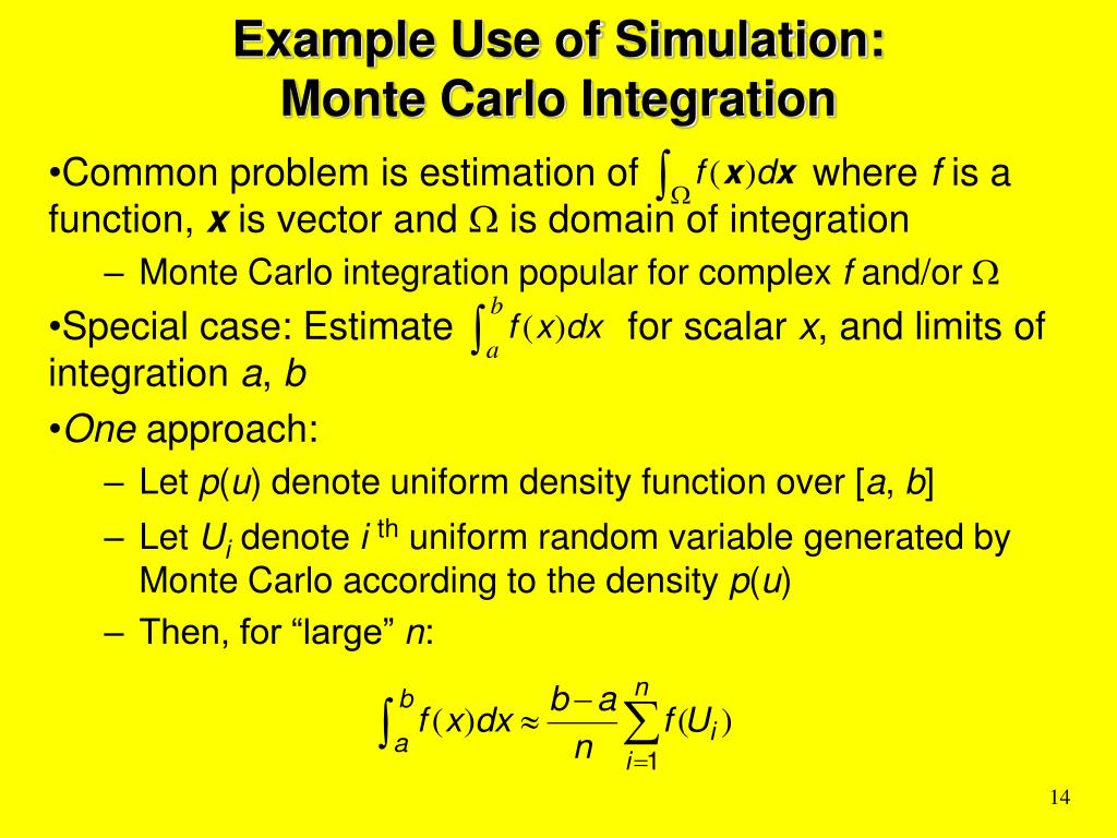 monte carlo simulation tutorial ppt