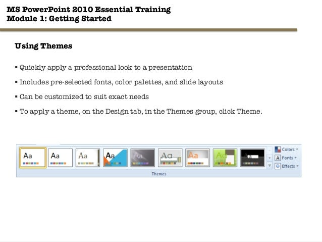 ms access 2010 tutorial ppt
