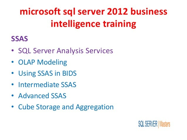 ms sql server 2012 tutorial