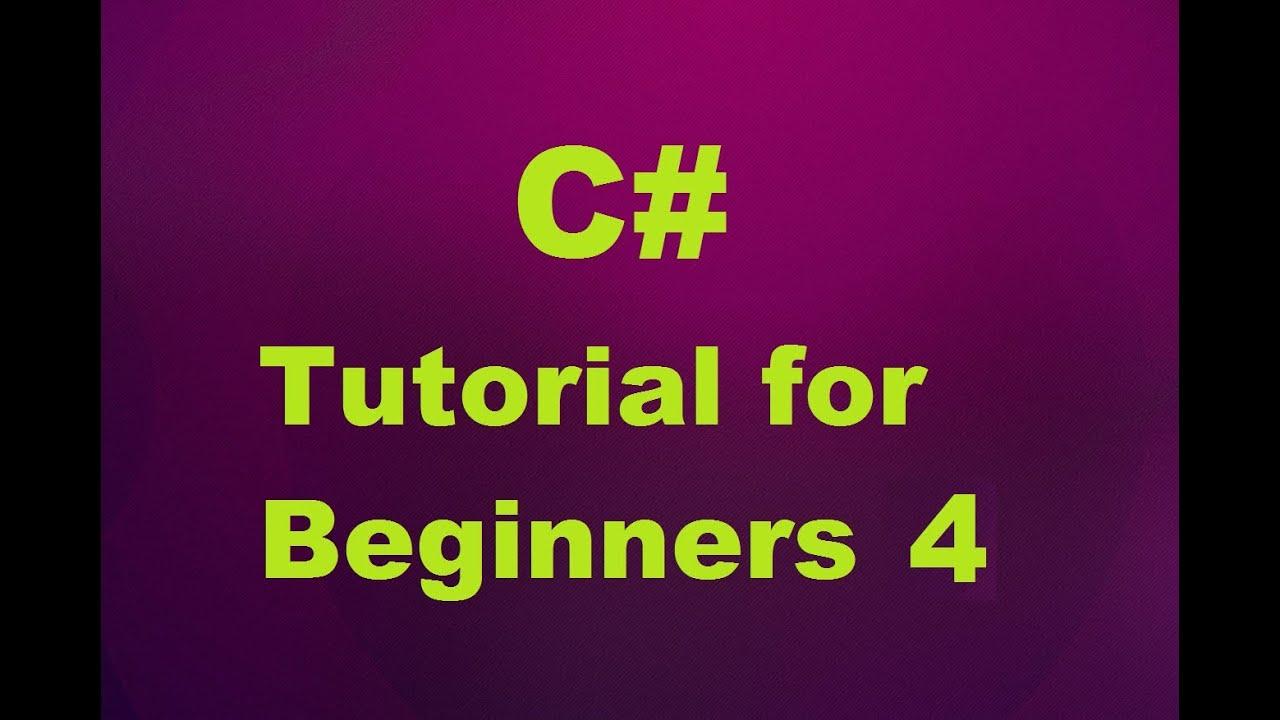 mvc 4 tutorial c# for beginners