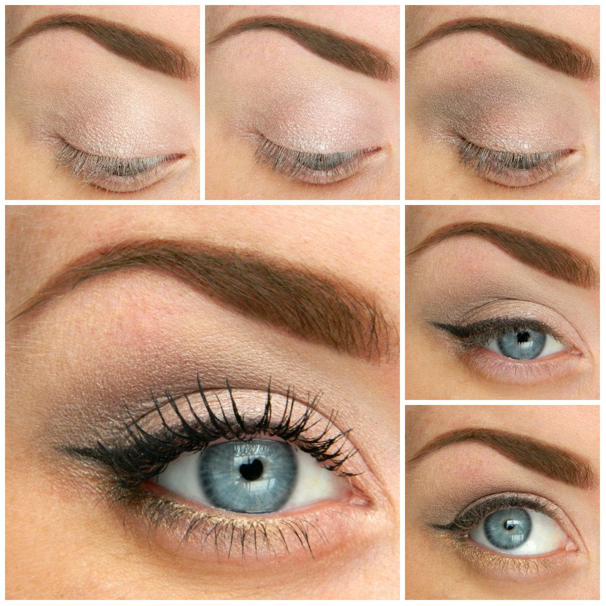 natural eye makeup tutorial for brown eyes