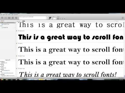 nexus font manager tutorial