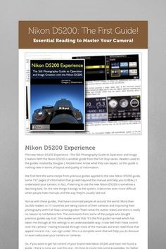 nikon d5200 tutorial photography pdf