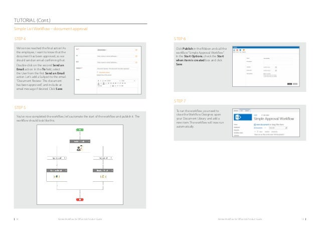 nintex workflow tutorial pdf