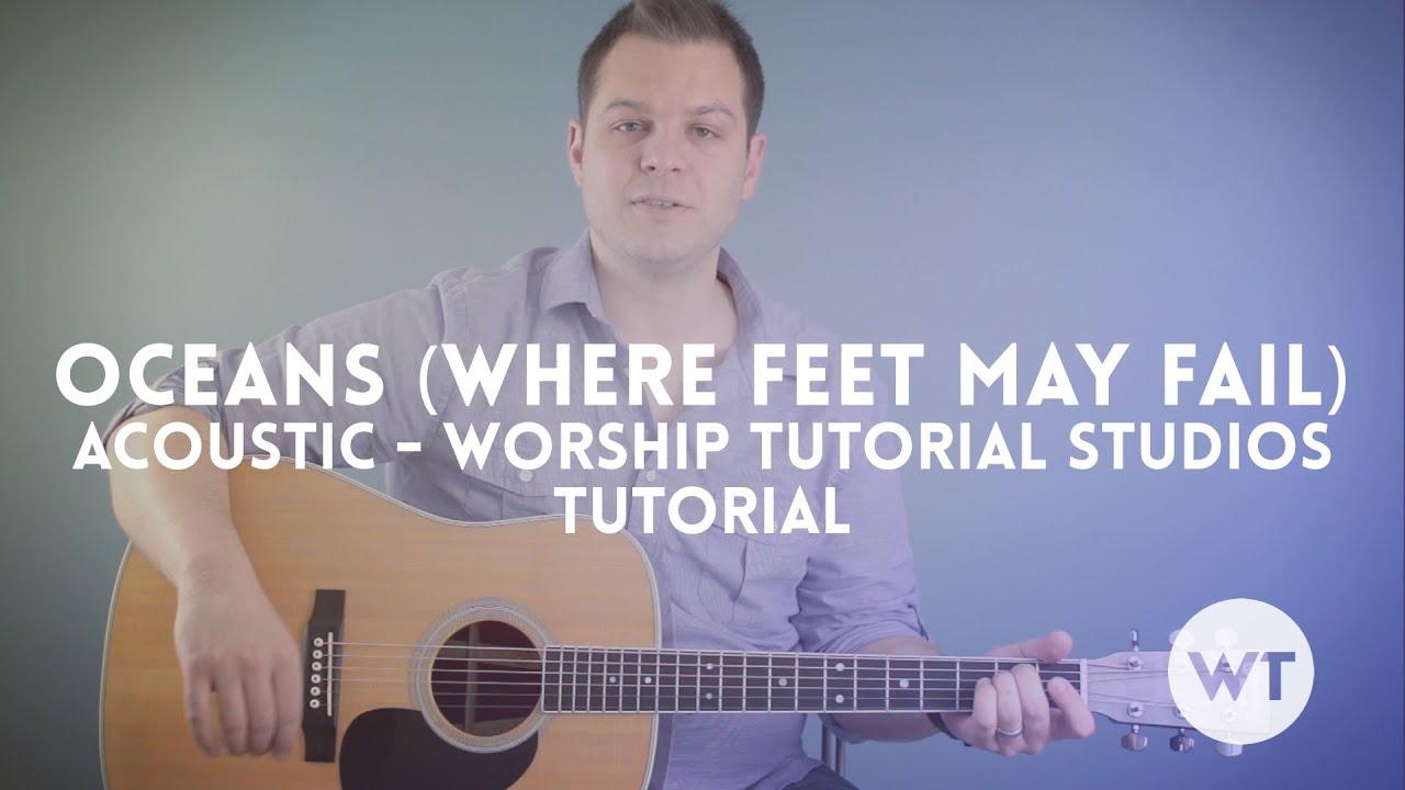 oceans where feet may fail guitar tutorial