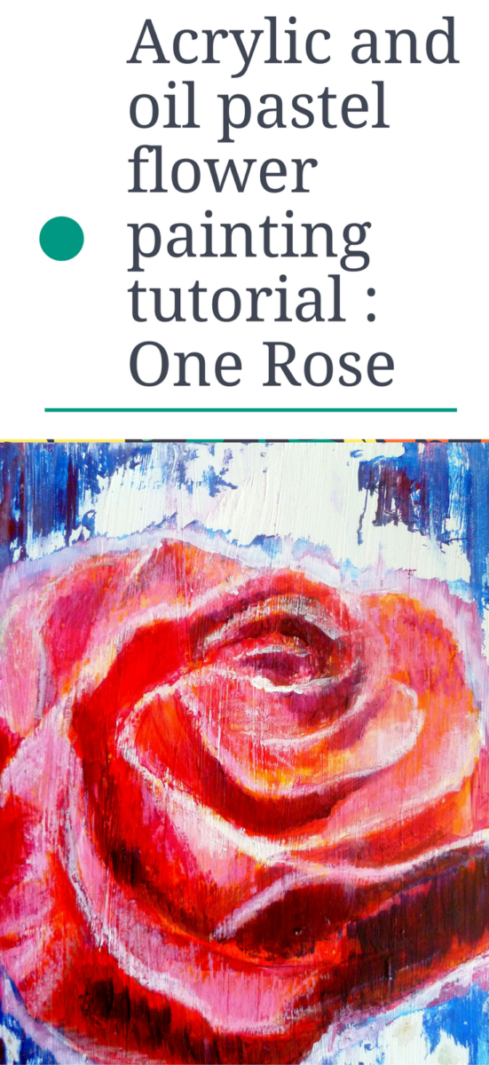 oil pastel tutorial step by step