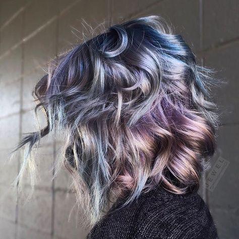 oil slick hair tutorial