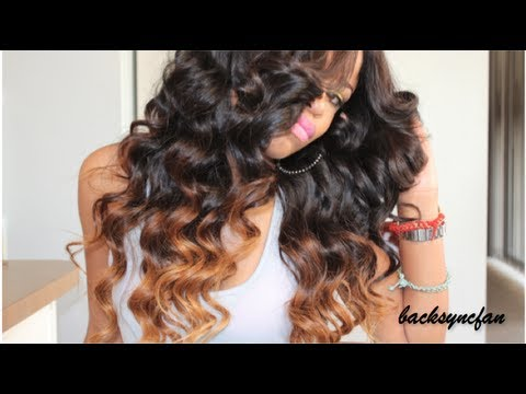 ombre hair tutorial for black hair