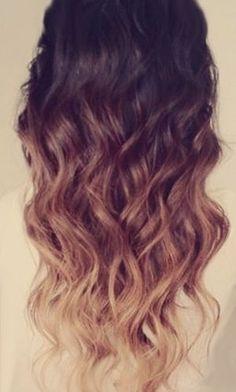 ombre hair tutorial for dark hair