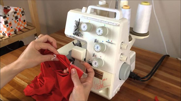 overlock sewing machine tutorial