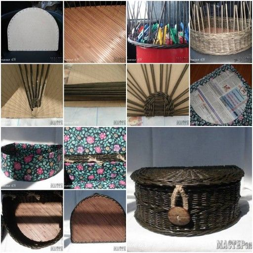 paper basket weaving tutorial