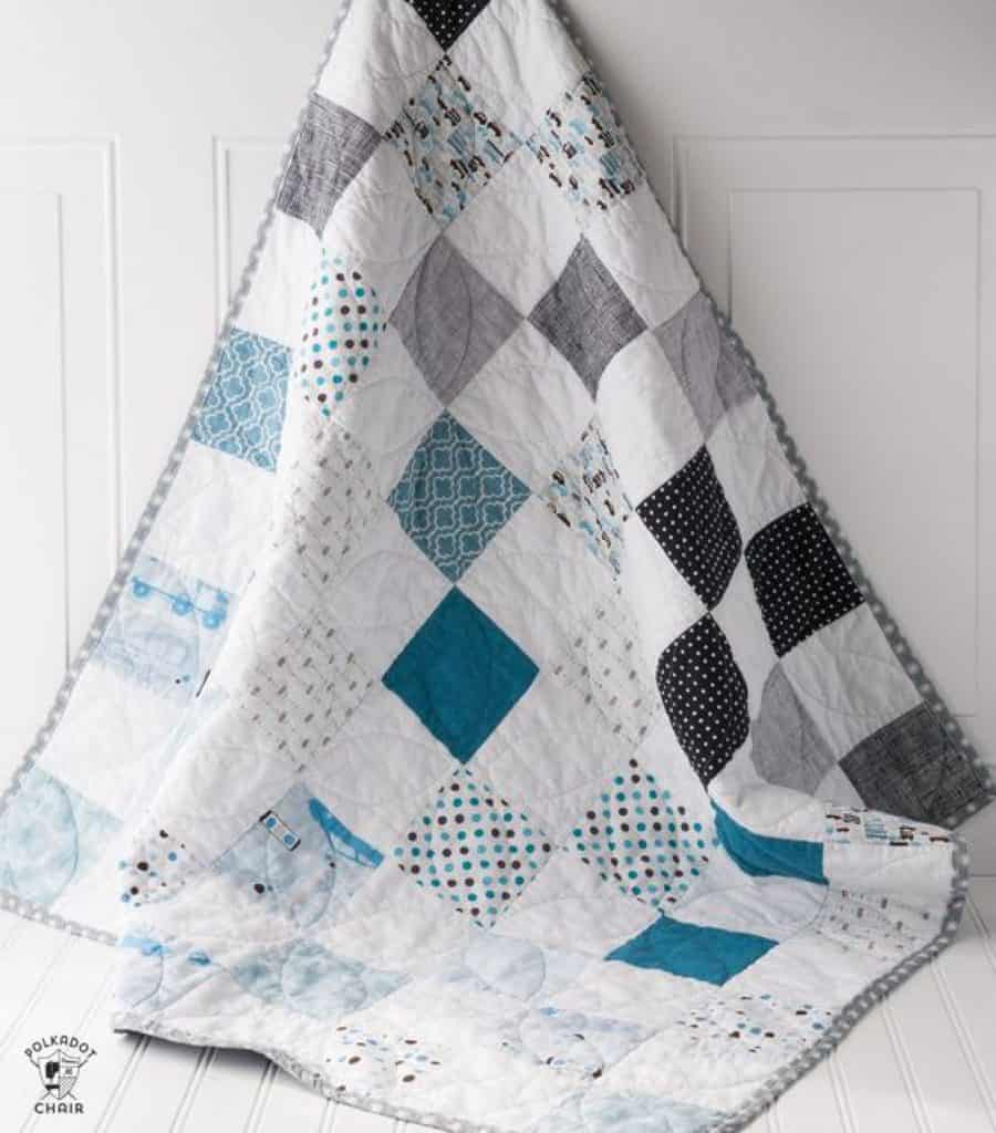 patchwork quilt tutorial for beginners