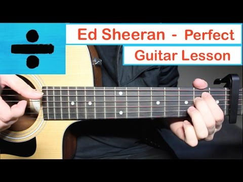 perfect guitar chords tutorial