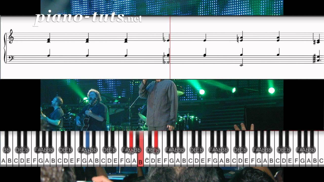 phil collins piano tutorial