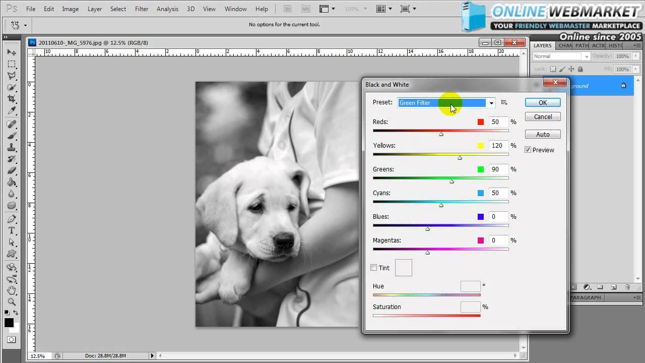 photoshop sepia tone tutorial