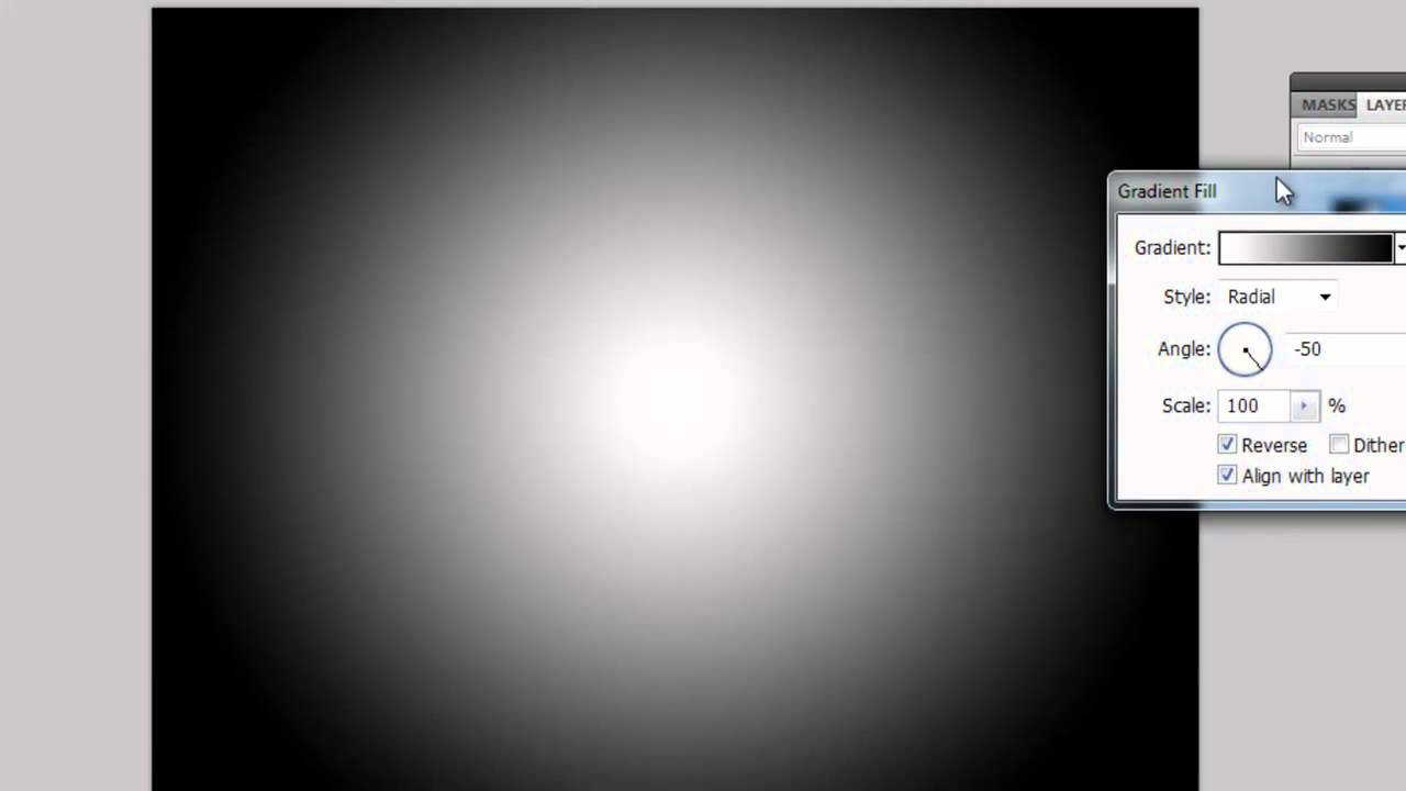photoshop tutorial white background