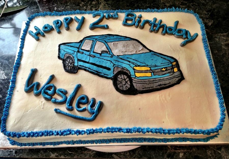 pick up truck cake tutorial
