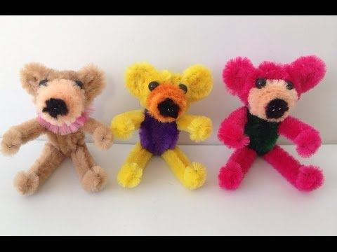 pipe cleaner animals tutorial