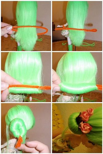 pipe cleaner dolls tutorial