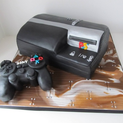 playstation controller cake tutorial