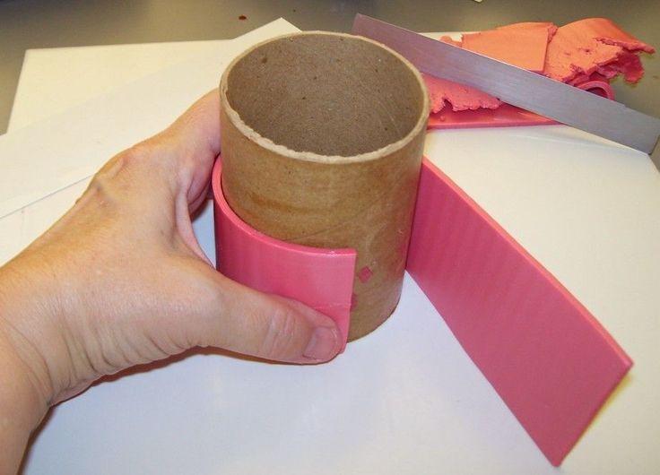 polymer clay bangle bracelet tutorial
