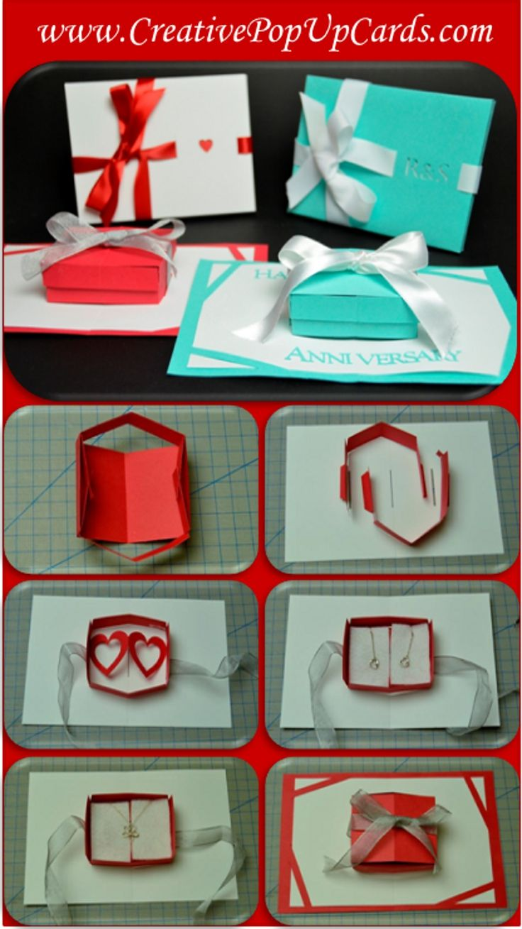 pop up gift card box tutorial
