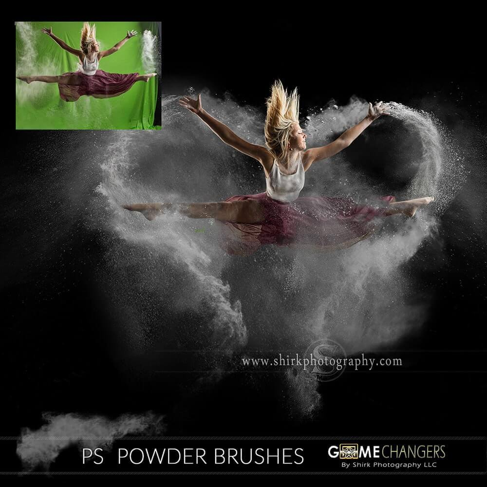 powder explosion photoshop tutorial