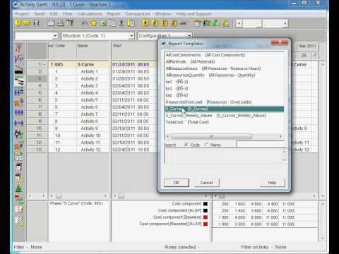 primavera p6 reports tutorial